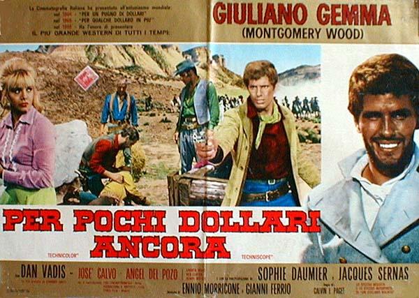 3 cavaliers pour Fort Yuma . Per Pochi Dollari Ancora . 1966 . Giorgio Ferroni. If_per10
