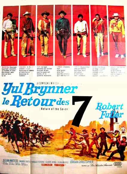 Le retour des 7 - Return of the Magnificent Seven -  1966 - Burt Kennedy  Le20re10