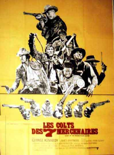 Les colts des 7 mercenaires - Guns of the Magnificent Seven - 1968 - Paul Wendkos  Les20c10
