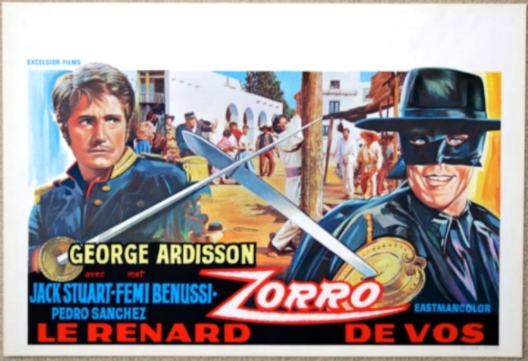 Zorro le Renard. El Zorro. 1968. Guido Zurli. O_el-z10