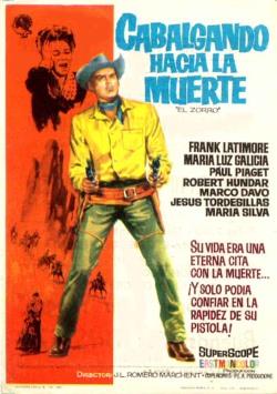 L'ombre de Zorro [ Cabalgando hacia la muerte ] . 1963 . Joachim Luis Romero Marchent . Shadow10