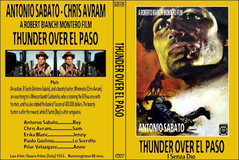 I senza Dio - Il était une fois à El Paso - I senza Dio - Roberto Bianchi Montero - 1972 Thunde10