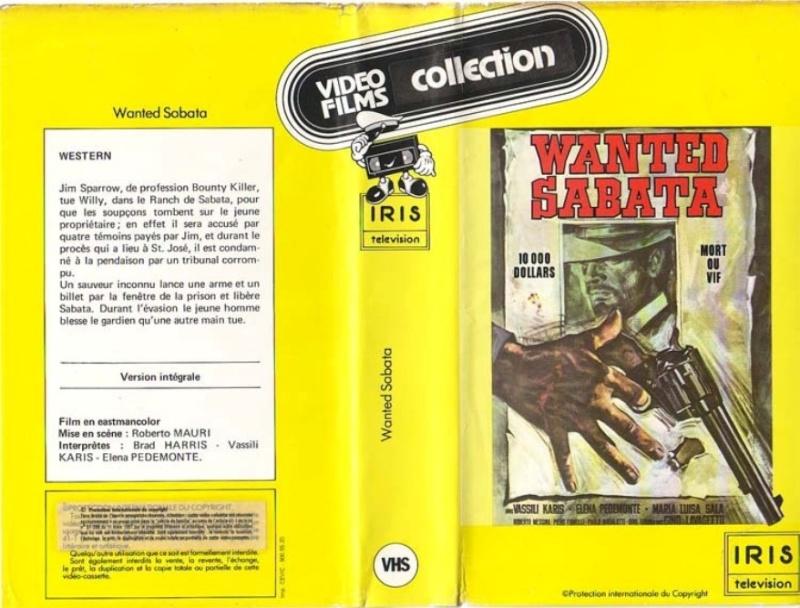 GUIDE DES SPAGHETTI WESTERNS SEULEMENT DISPONIBLES EN VHS.  Wanted13