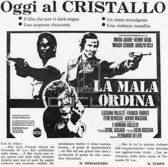 Passeports pour deux tueurs ( la mala ordina ) - 1972 - Fernando Di Leo Zadit10