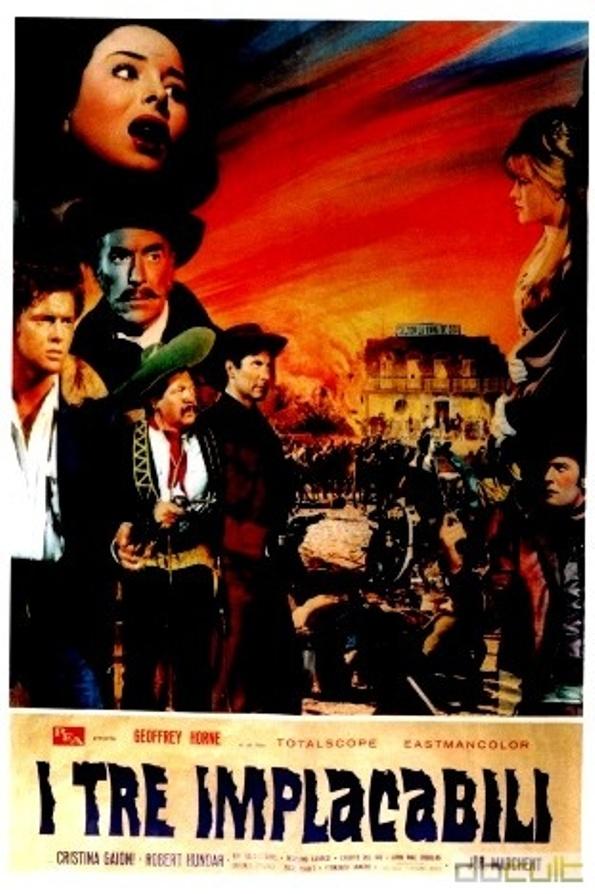 Trois cavaliers noirs . Tres Hombres Buenos . 1963. J.L. Romero Marchent. Zit2410