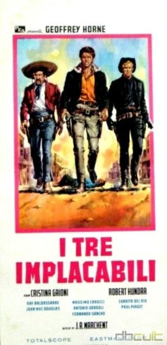 Trois cavaliers noirs . Tres Hombres Buenos . 1963. J.L. Romero Marchent. Zloc1510