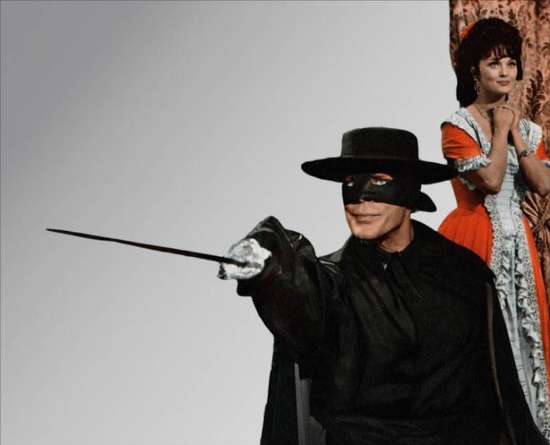 Zorro le Renard. El Zorro. 1968. Guido Zurli. Zorro-11