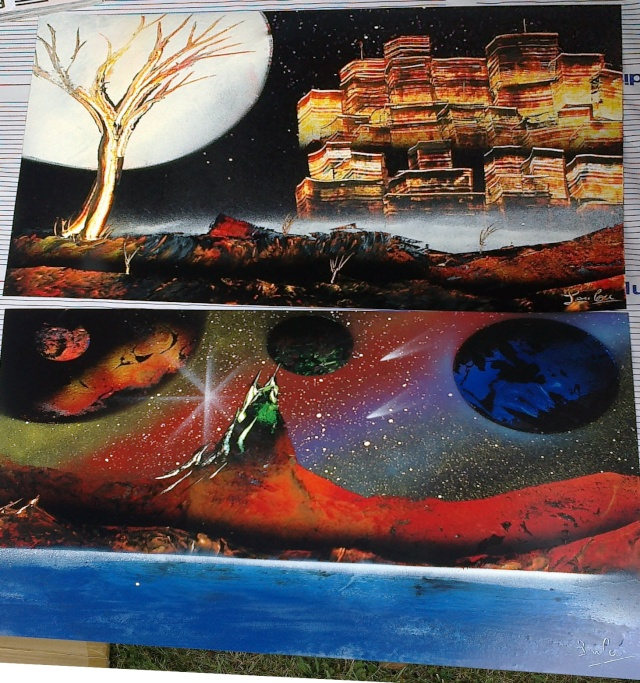 Le retour de loulou!!! et toutes mes peintures actuelles et à venir :) Festiv10