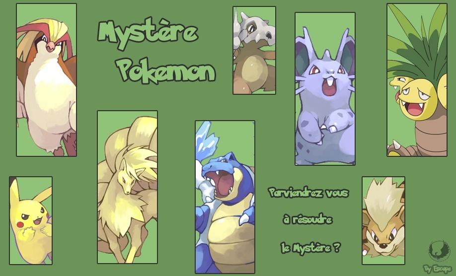 Mystère Pokémon