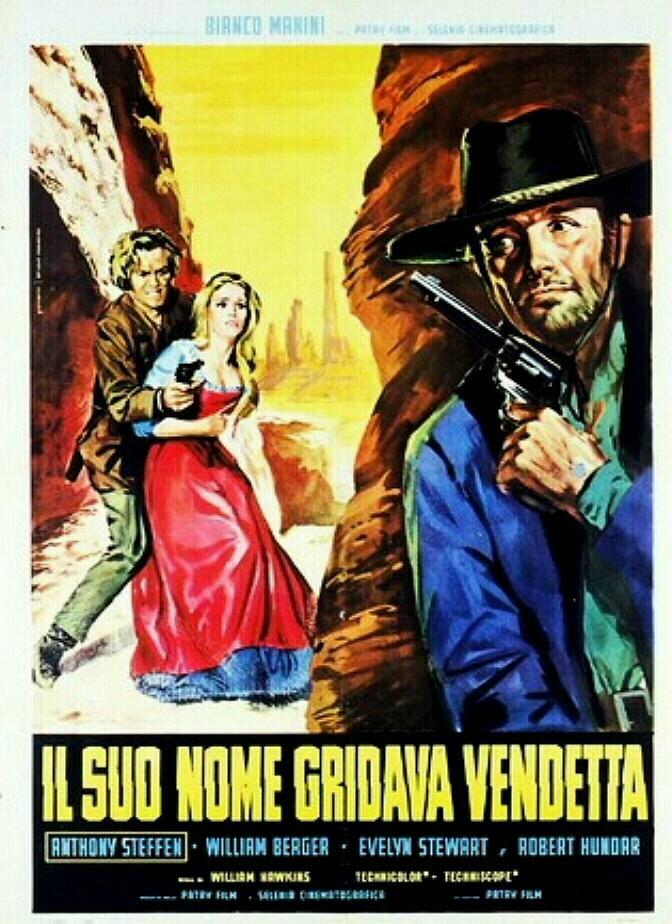 Son nom crie vengeance ( Il suo nome gridava vendetta ) - 1968 - Mario Caiano Affich10