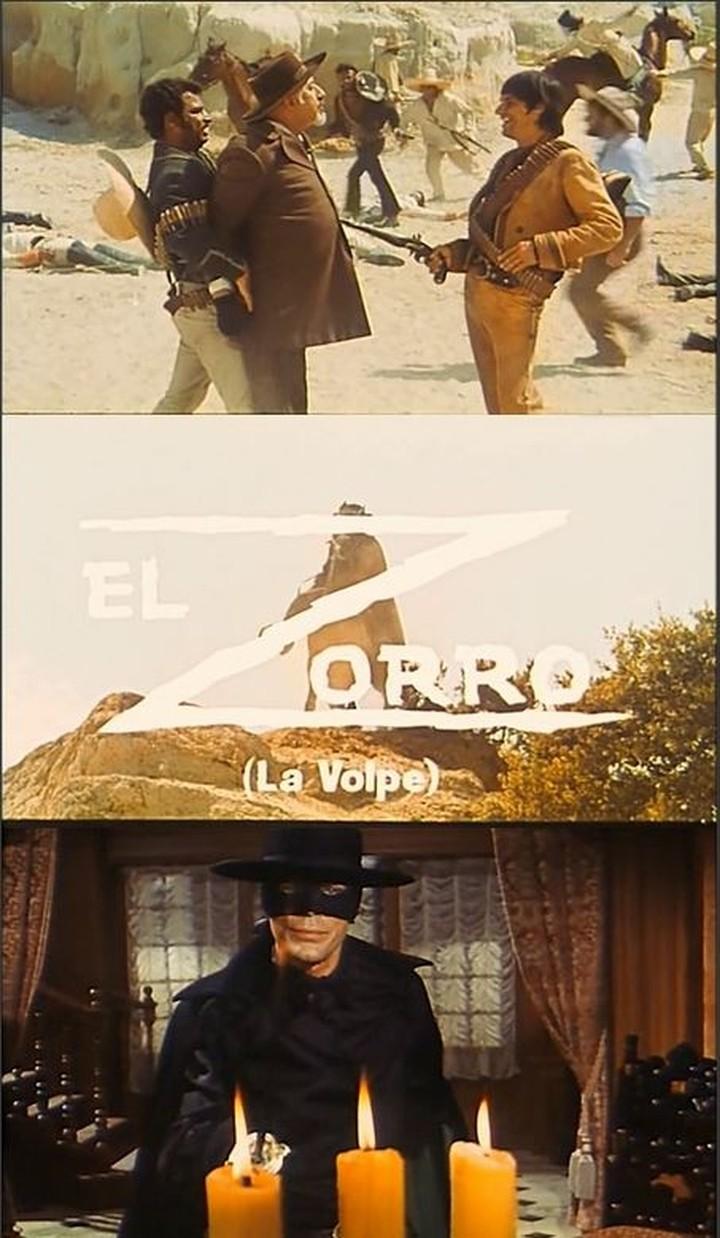 Zorro le Renard. El Zorro. 1968. Guido Zurli. Captur20