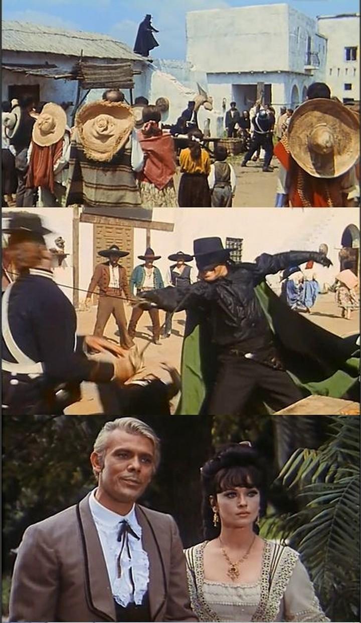 Zorro le Renard. El Zorro. 1968. Guido Zurli. Captur21