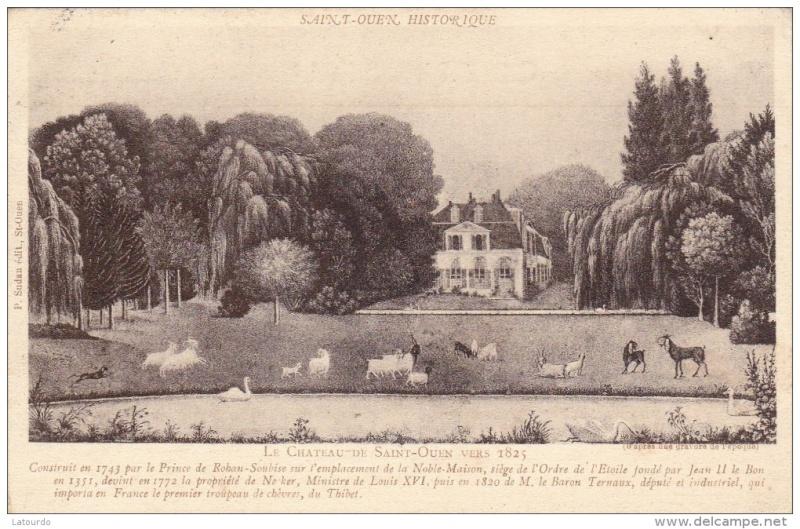 La reine à St.Ouen, chez M. de Nivernais 282_0011