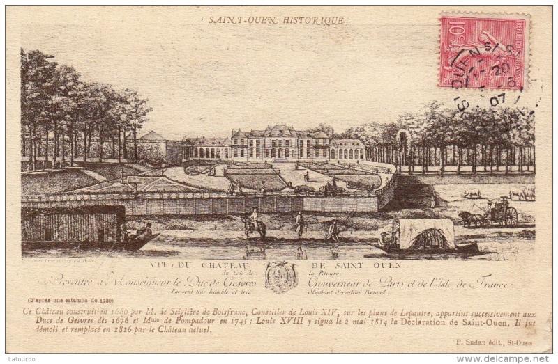 La reine à St.Ouen, chez M. de Nivernais 757_0011