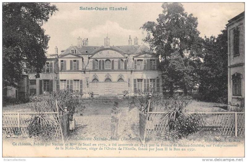 La reine à St.Ouen, chez M. de Nivernais 799_0010