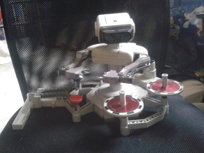 Robot Rob fonctionnel pour Nes 2015-040