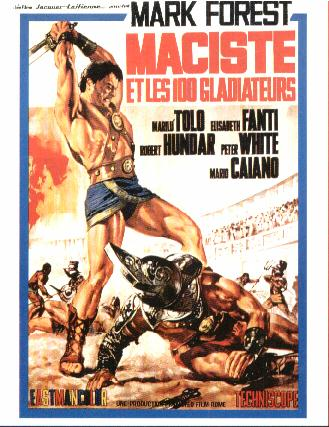Maciste et les 100 Gladiateurs-Maciste Gladiatore Di Sparta-1965-Mario CAIANO Macist10
