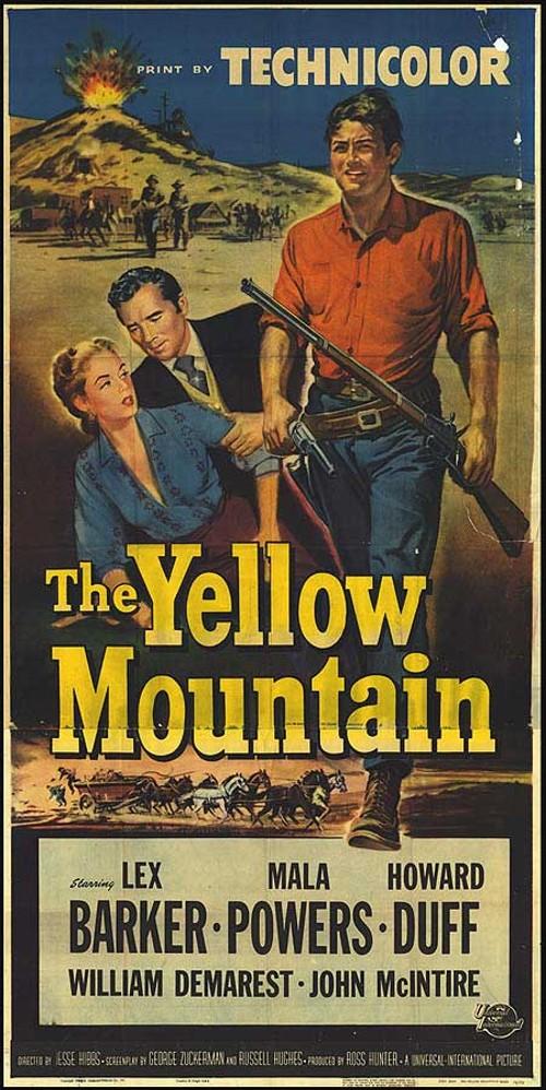 La montagne jaune- The Yellow Mountain- 1954- Jesse Hibbs 4875610