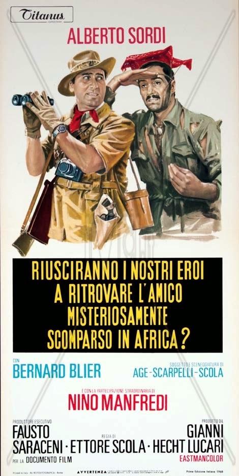 Nos héros réussiront-ils à retrouver leur ami mystérieusement disparu en Afrique ? -1968- E Scola Riusci10