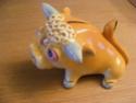 Italian pottery bull - Freccia di Tarcisio Tosin Potter15