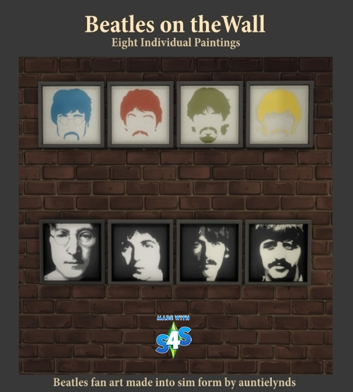AL's Wall Art: New! Homage to The Beatles 210