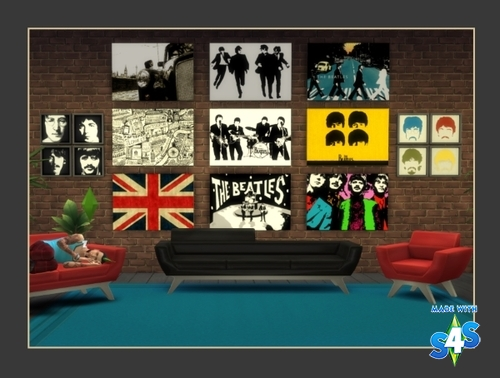 AL's Wall Art: New! Homage to The Beatles 310