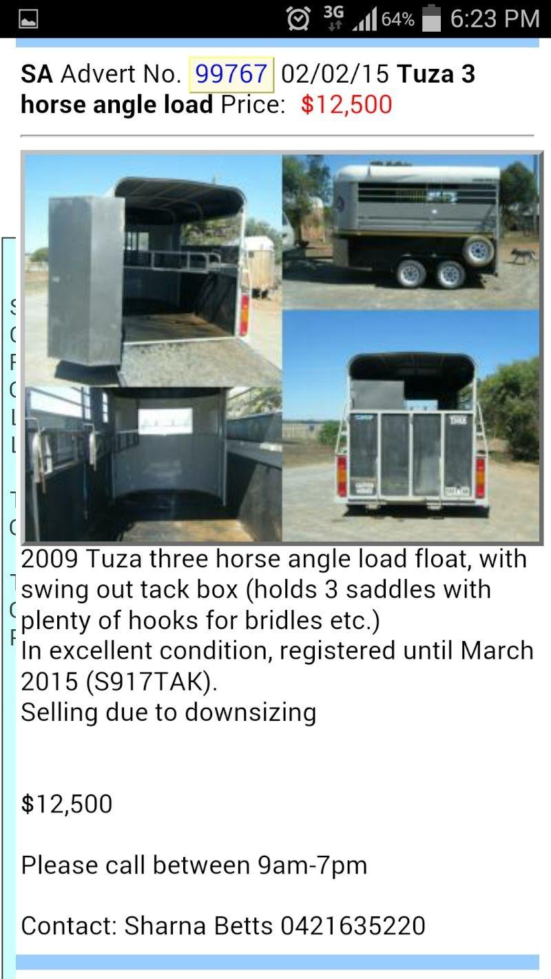 Tuza 3 horse angle load Screen10