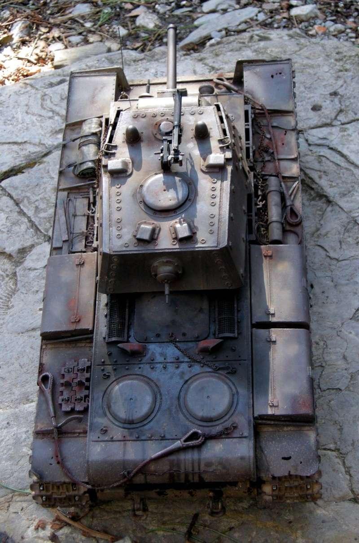 KV1 H L  con scafo e cingoli in metallo 510