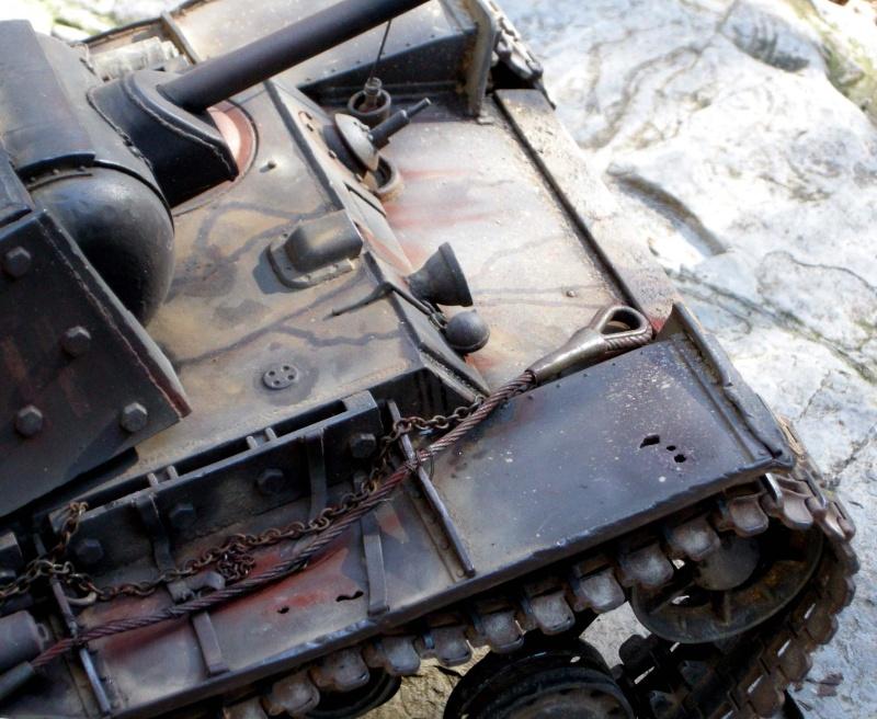 KV1 H L  con scafo e cingoli in metallo 710