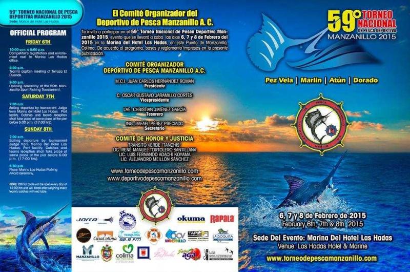 59th National Manzanillo Sport Fishing Tournament 2015 Fish-m11
