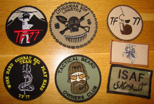 Some Lithuanian items from ISAF  Lk_sop10