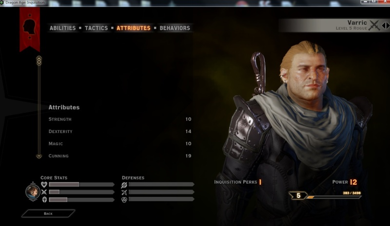 Dragon Age Inquisition: Ask/Help/Share Varric10