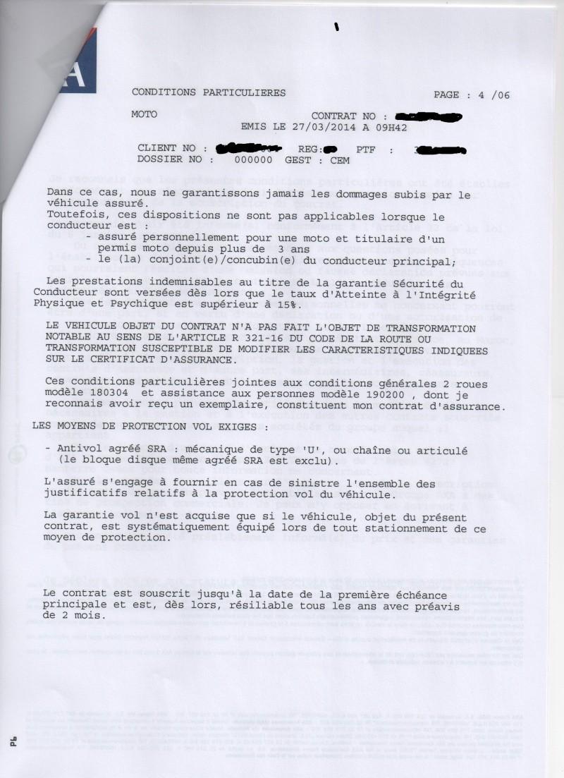 Mésaventures avec les assurances - Page 2 Clause10