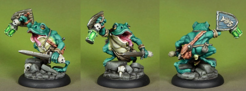 possessed - Cult of the Possessed , First  modell , a big Possessed ! - Page 8 Frog_m10