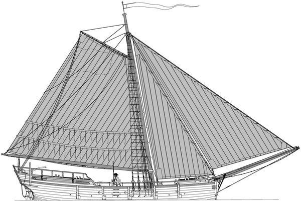 MONOGRAPHIE : Le Rochefort  yacht de port 1787 Grande10