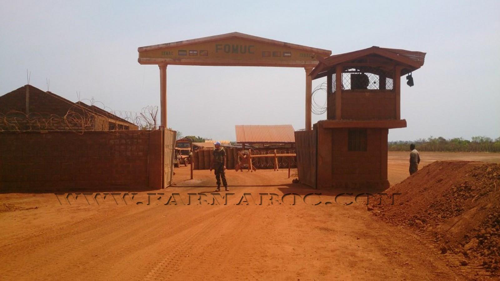 Maintien de la paix dans le monde - Les FAR en République Centrafricaine - RCA (MINUSCA) 01_00010