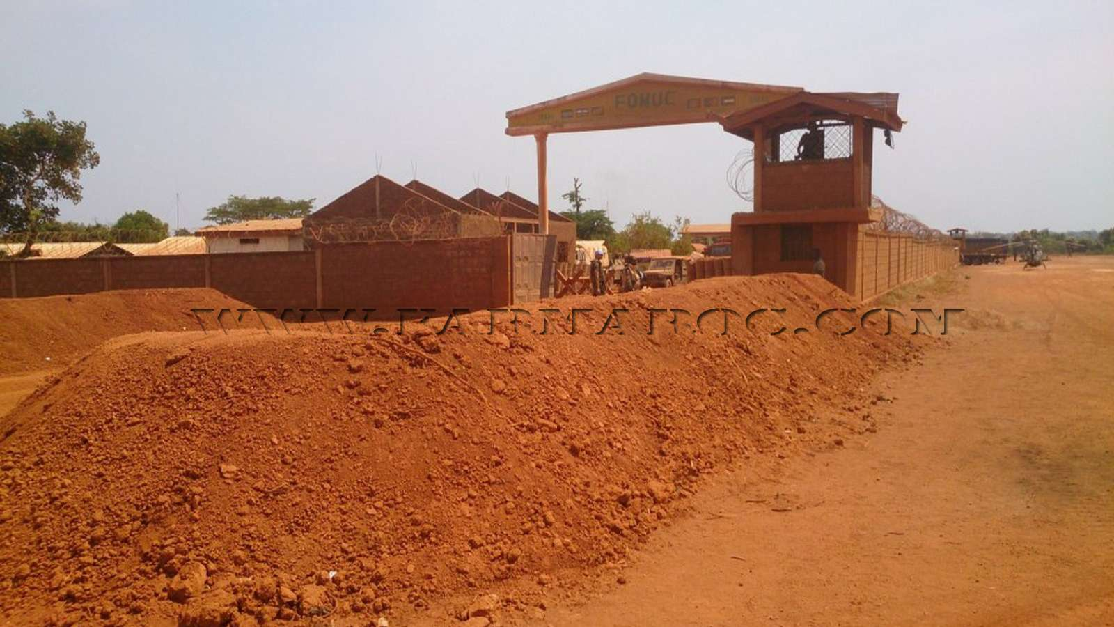 Maintien de la paix dans le monde - Les FAR en République Centrafricaine - RCA (MINUSCA) 02_00010