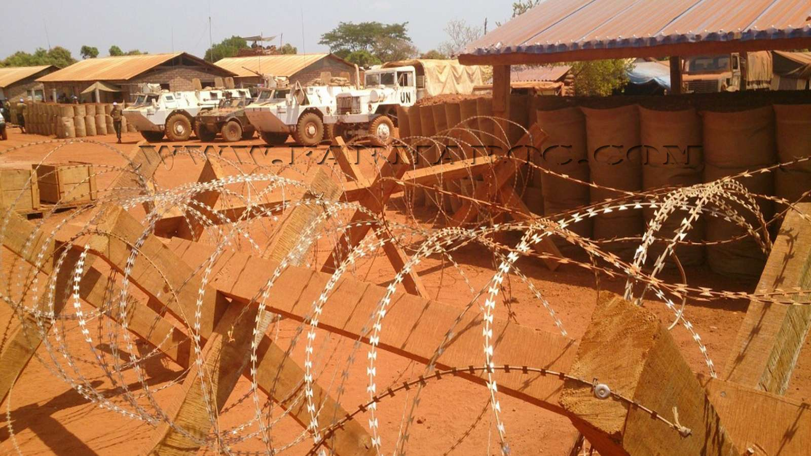 Maintien de la paix dans le monde - Les FAR en République Centrafricaine - RCA (MINUSCA) 03_00010