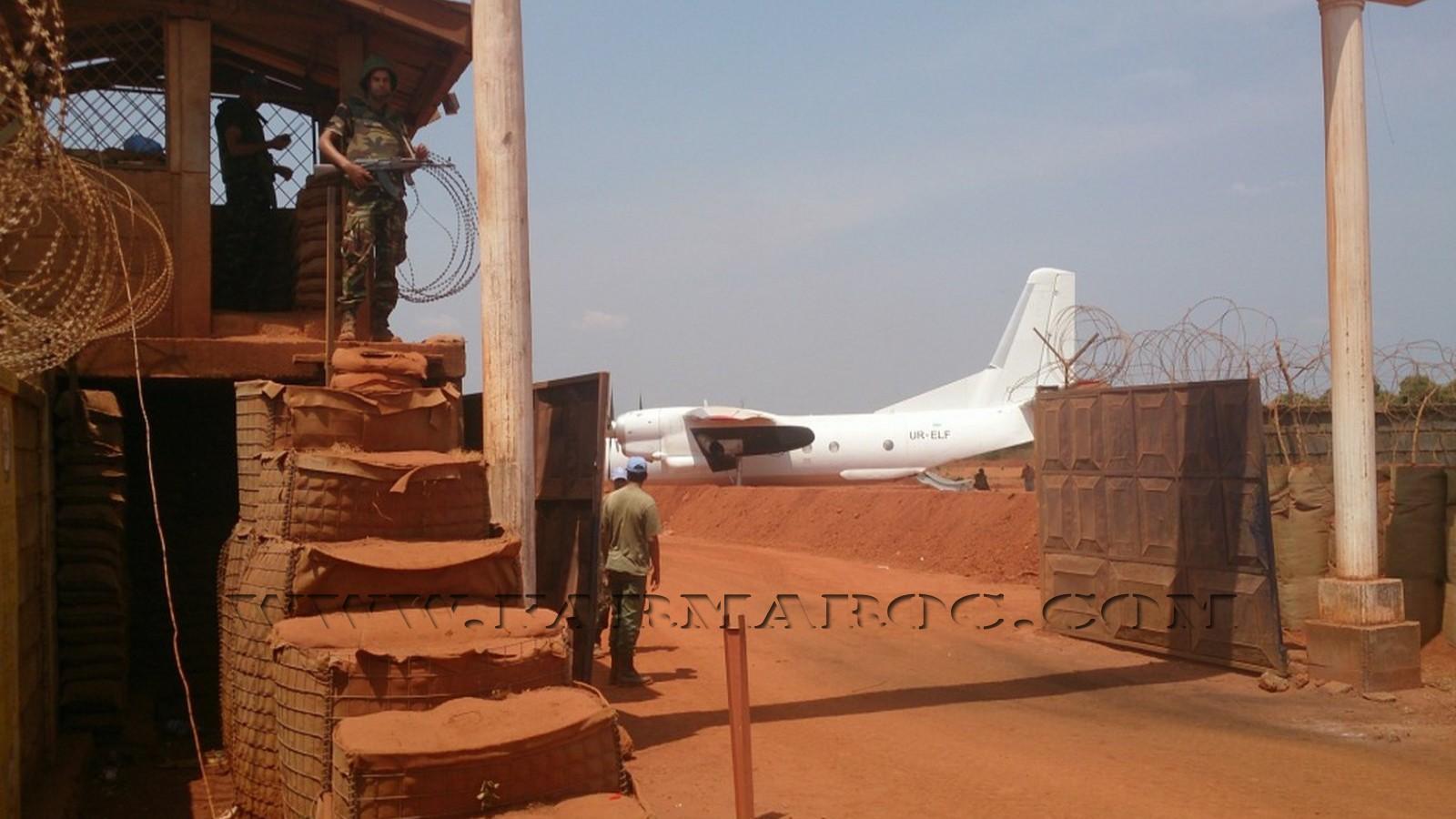 Maintien de la paix dans le monde - Les FAR en République Centrafricaine - RCA (MINUSCA) 04_00010