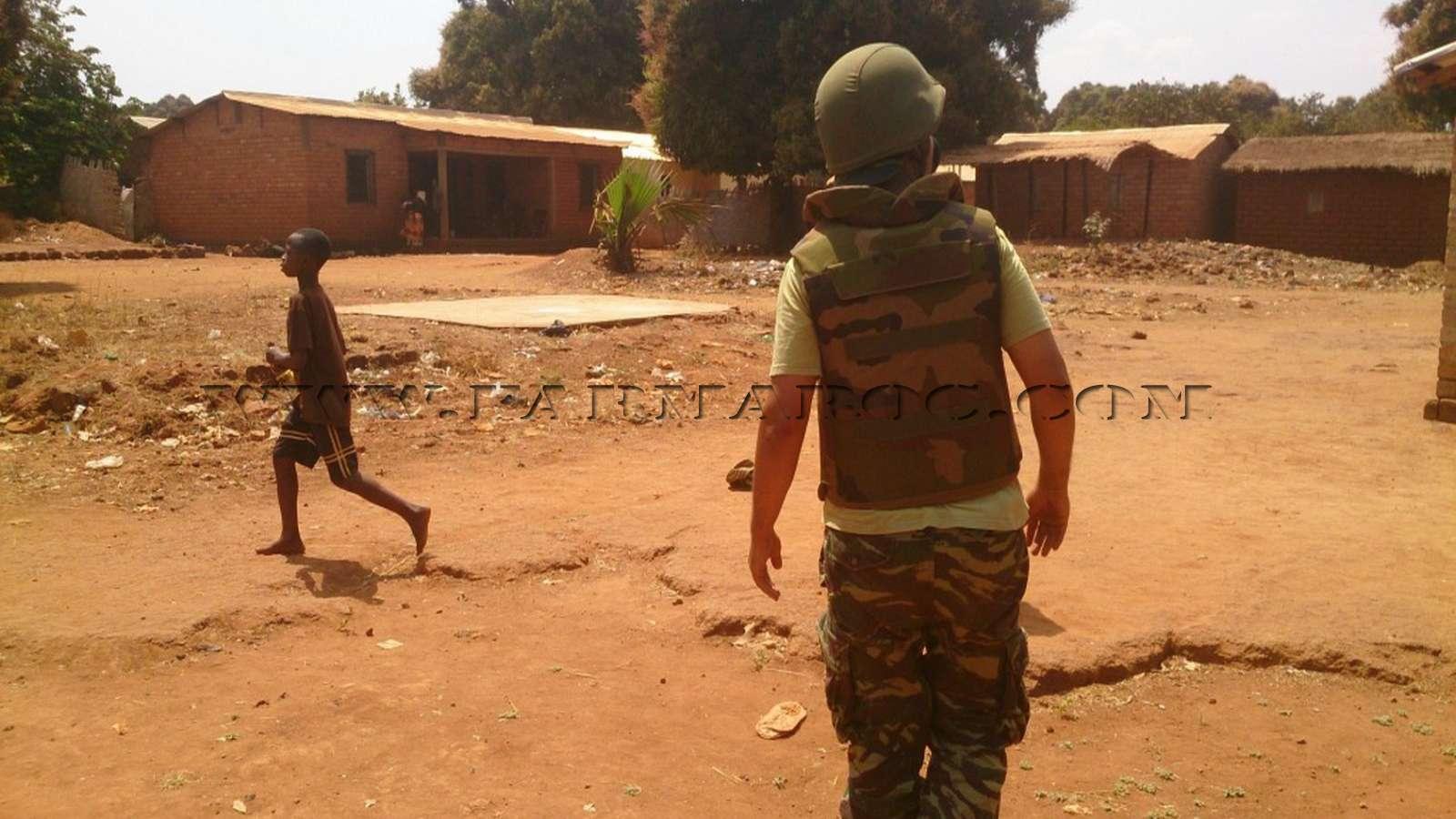 Maintien de la paix dans le monde - Les FAR en République Centrafricaine - RCA (MINUSCA) 06_00010