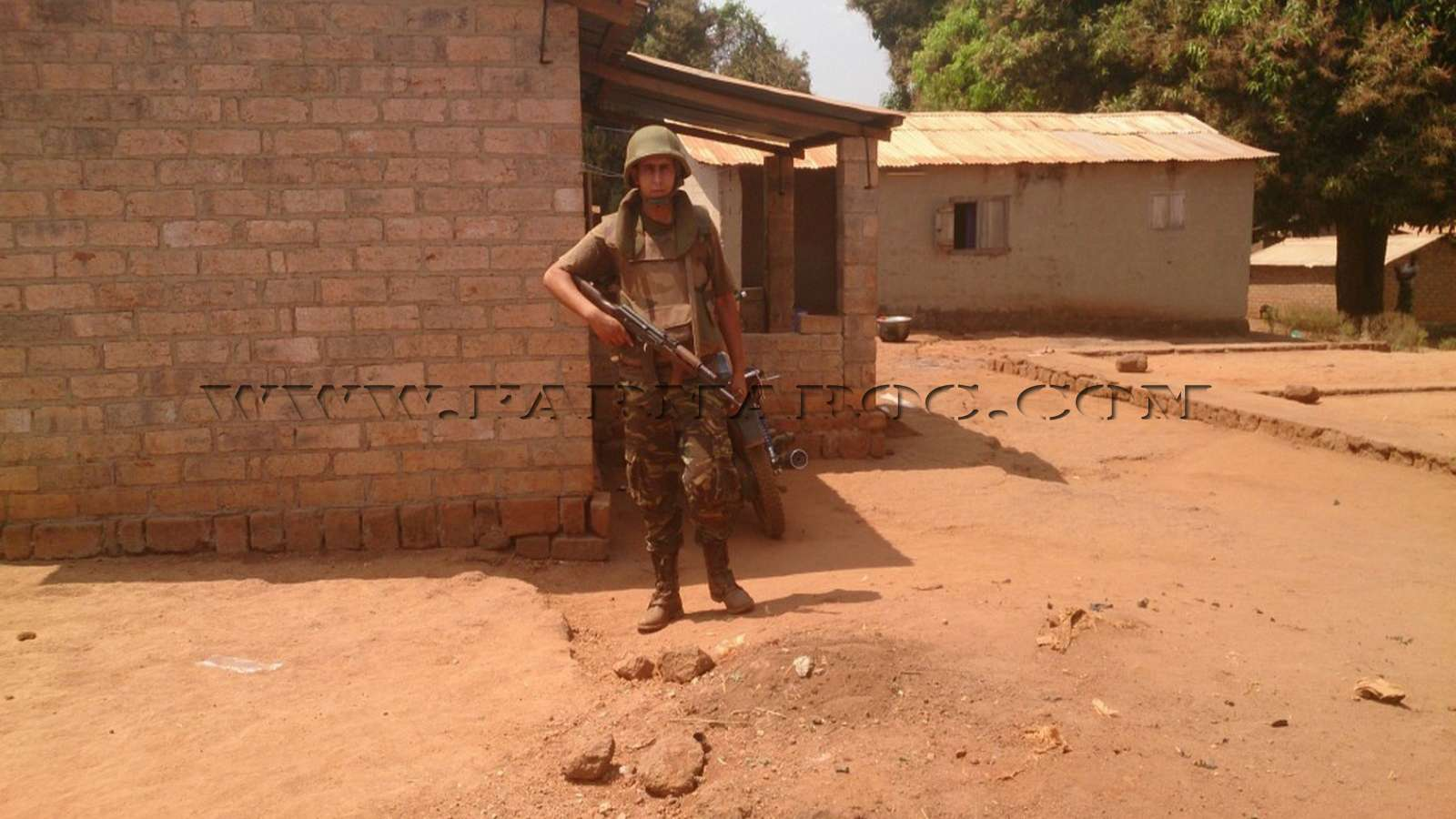 Maintien de la paix dans le monde - Les FAR en République Centrafricaine - RCA (MINUSCA) 07_00010