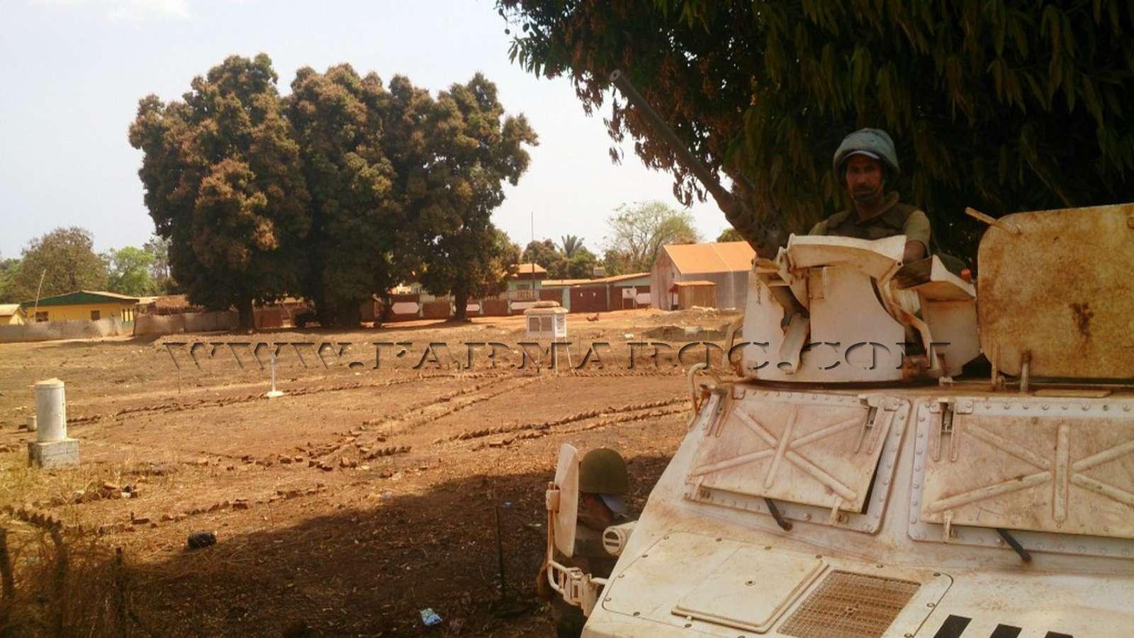 Maintien de la paix dans le monde - Les FAR en République Centrafricaine - RCA (MINUSCA) 08_00010