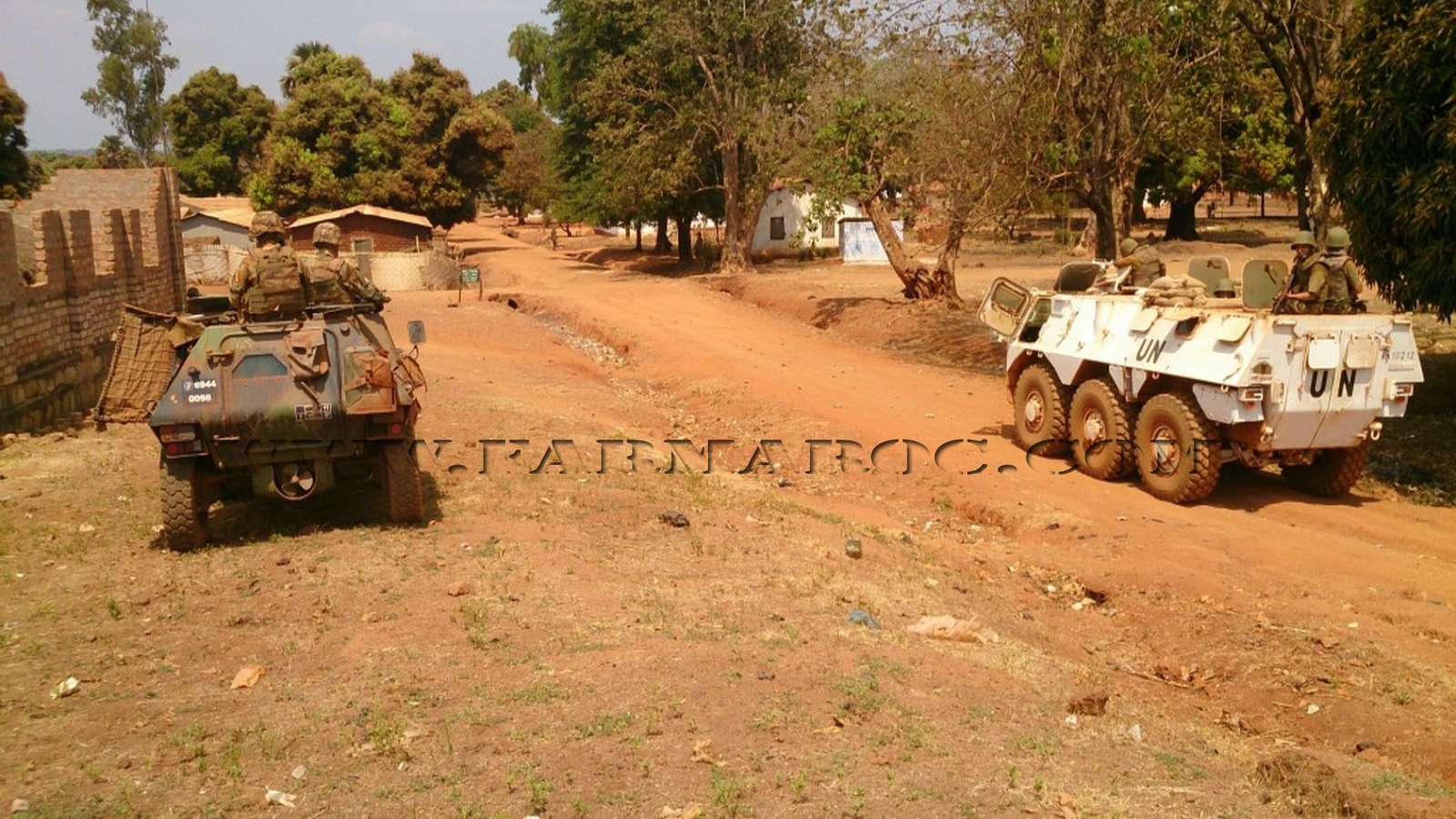 Maintien de la paix dans le monde - Les FAR en République Centrafricaine - RCA (MINUSCA) 09_00010