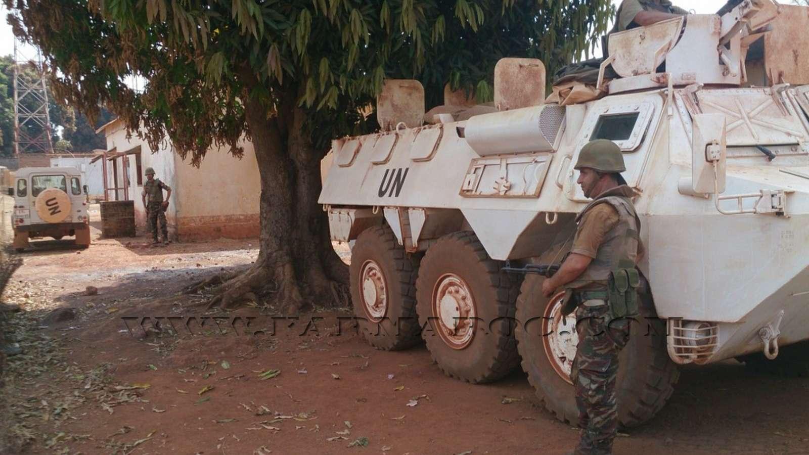 Maintien de la paix dans le monde - Les FAR en République Centrafricaine - RCA (MINUSCA) 10_00010