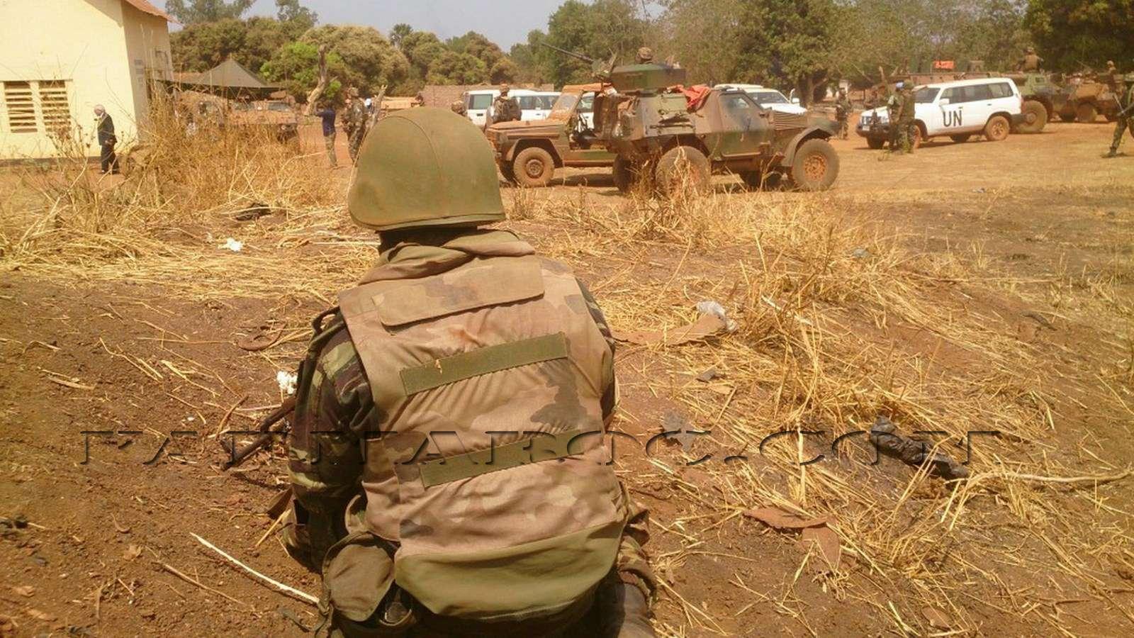Maintien de la paix dans le monde - Les FAR en République Centrafricaine - RCA (MINUSCA) 110