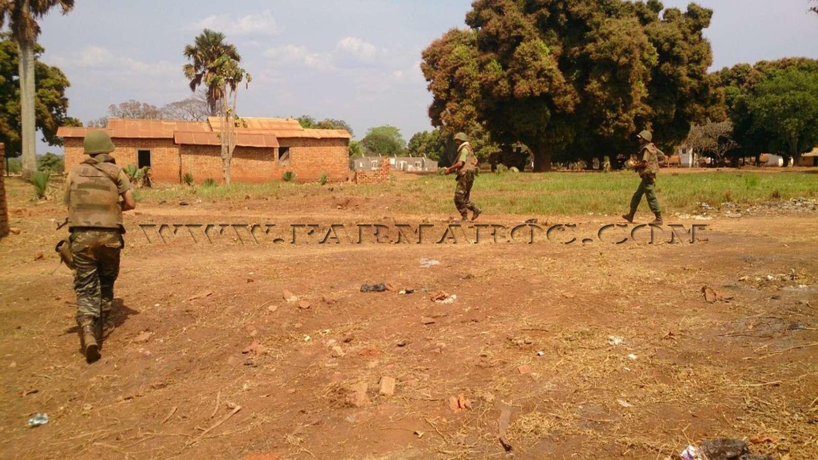 Maintien de la paix dans le monde - Les FAR en République Centrafricaine - RCA (MINUSCA) 11_00010