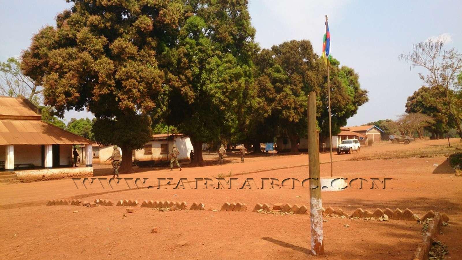 Maintien de la paix dans le monde - Les FAR en République Centrafricaine - RCA (MINUSCA) 12_00010