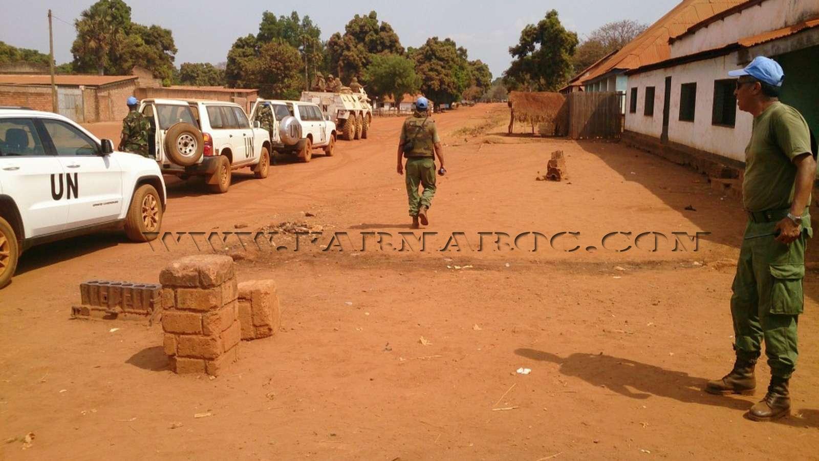 Maintien de la paix dans le monde - Les FAR en République Centrafricaine - RCA (MINUSCA) 13_00010