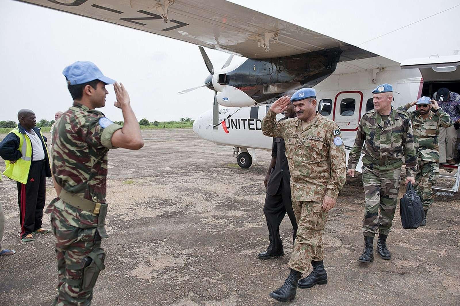 Maintien de la paix dans le monde - Les FAR en République Centrafricaine - RCA (MINUSCA) 14419110