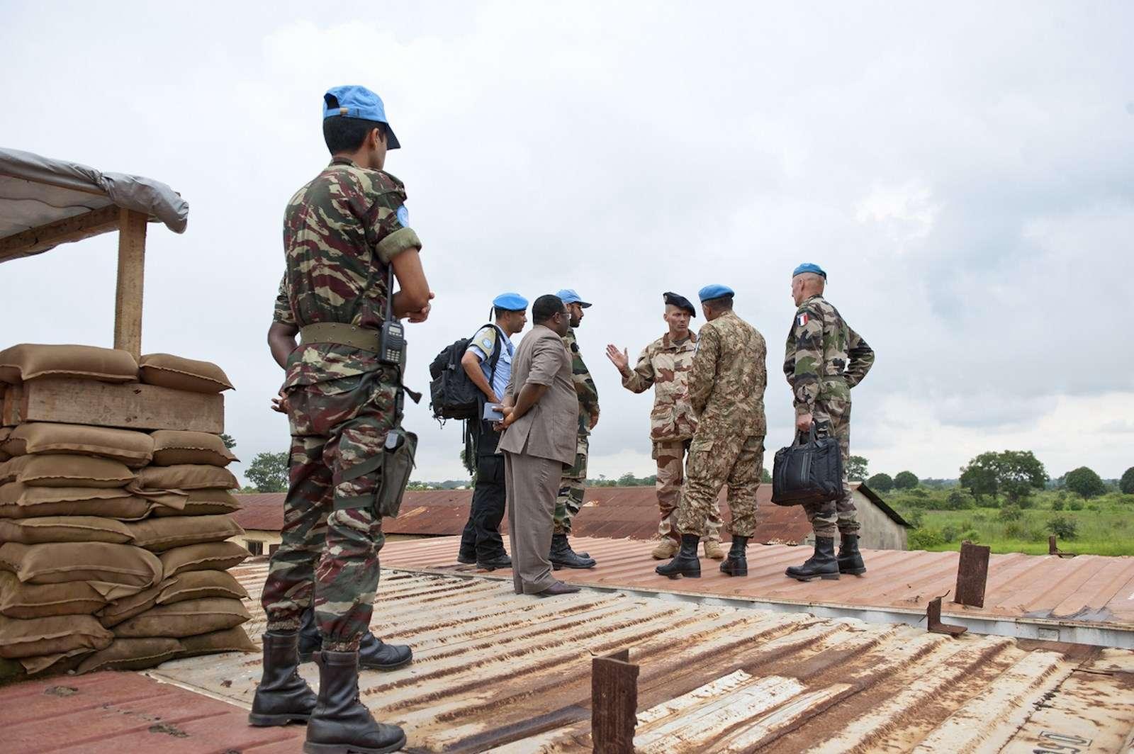 Maintien de la paix dans le monde - Les FAR en République Centrafricaine - RCA (MINUSCA) 14603610